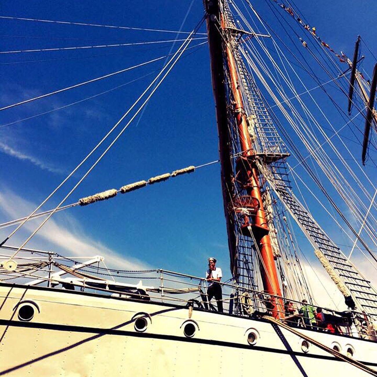 Sailor at Sail - Amsterdam
