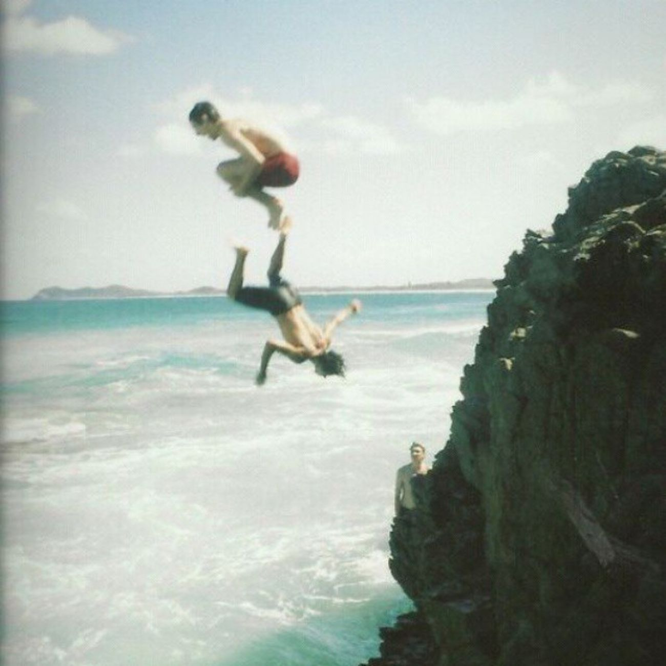 Who wants to go cliff jumping with me? CliffJumping Sofun
