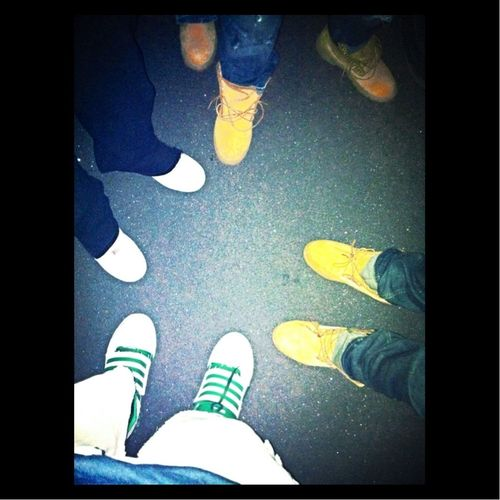 Tims,Air Force 1's,Adidas
