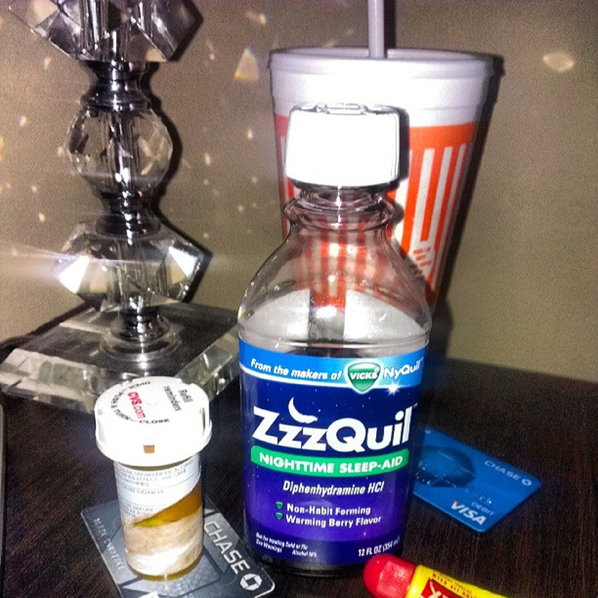 ZzzQuil for MrInsomnia Toomuch Onmymind helpsmesleep oh and a musclerealaxer