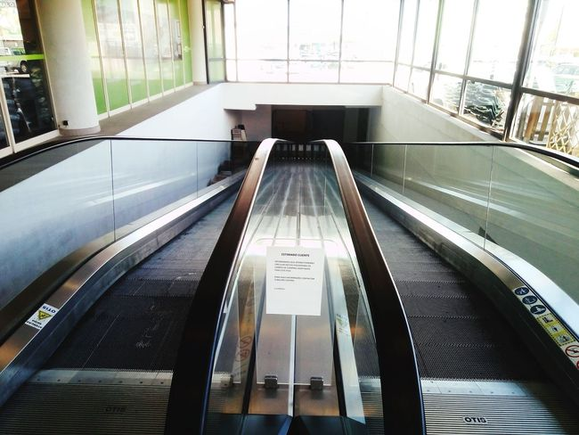 Stairs Stairways Stairs Down Stairs Platform Built Structure Indoors  No People Day Architecture Nowadays Comercial Center The Secret Spaces