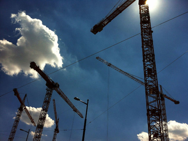 Building the sky