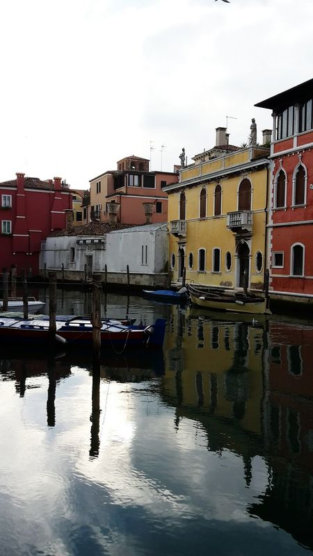 Reflection Water Outdoors Chioggia, Italy Venice, Italy Canal Winter Romantic Place