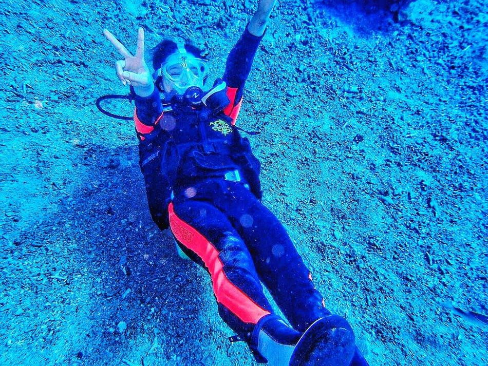 Greenisland Taiwan Diving Hello World Check This Out That's Me Cheese! Hi! Taking Photos Relaxing In The Sea Sea Sea Life First Eyeem Photo