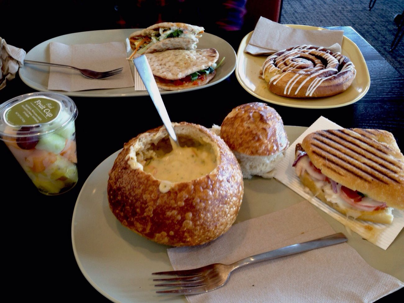 Panera Bread: where food is healthy and delicious.
