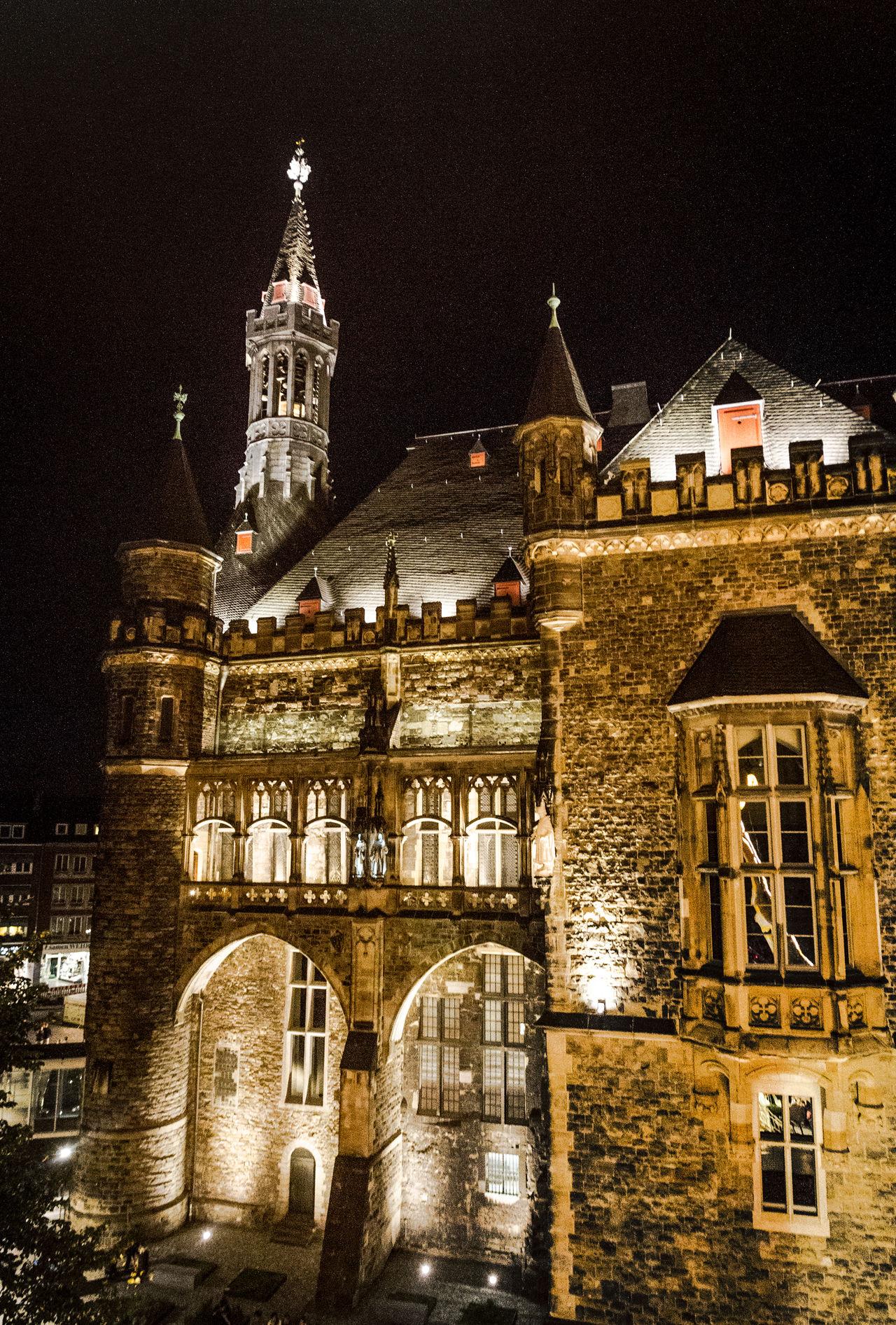 Aachen Aachenrathhaus Rathhaus Nightphotography Night Cityscape Cityscapes Old Monument Heritage