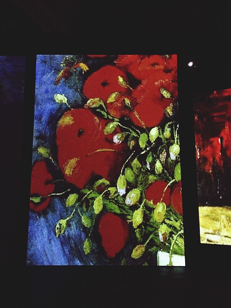 Painting Museum Multi Colored Red Green Color Indoors  No People Close-up Leaf Variation Freshness Nature Day (null)Vangoghalive Rome Italy