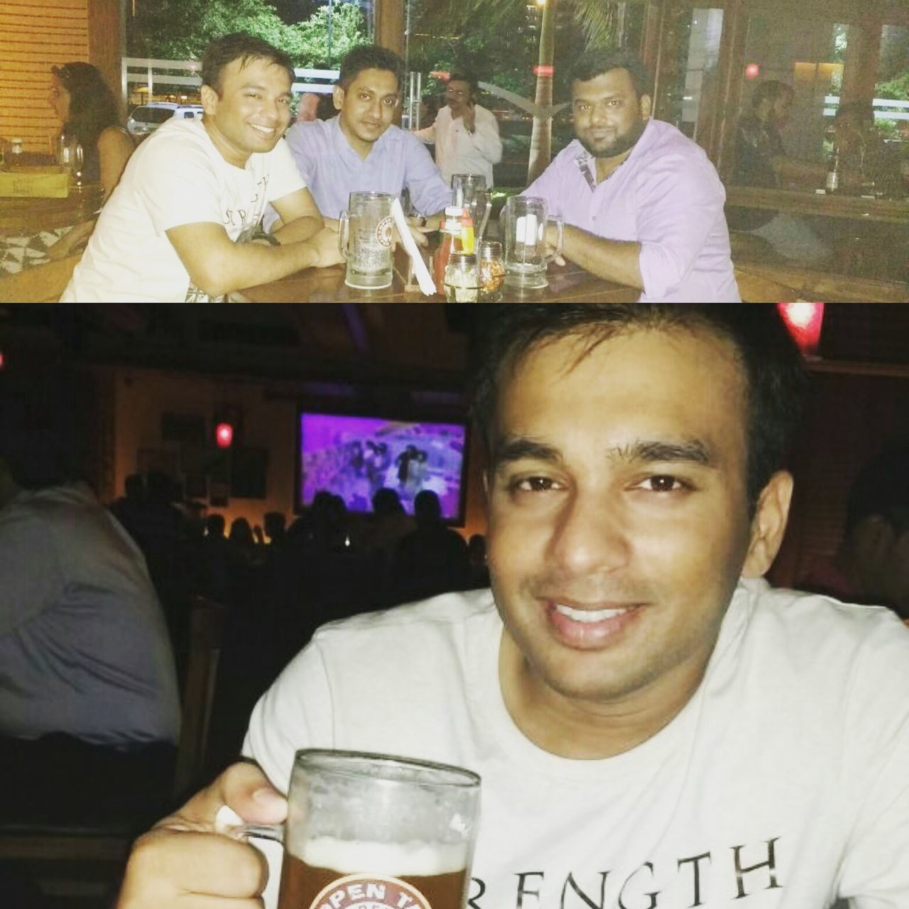 hangout with bro Enjoying Life Drinking Beer Chilling Relaxing