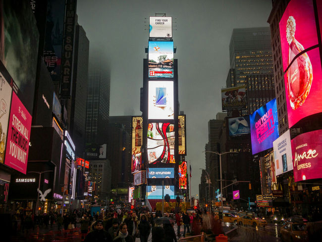 Times Square at night. RAW Dng, shot and edited in Lightroom for Android. Times Square, Manhattan, New York, USA. Galaxy Note 5 | 4.3mm equiv 28mm | 1/60 sec | f/1.9 | iso 100 Wanderlust Urban Exploration Street Photography