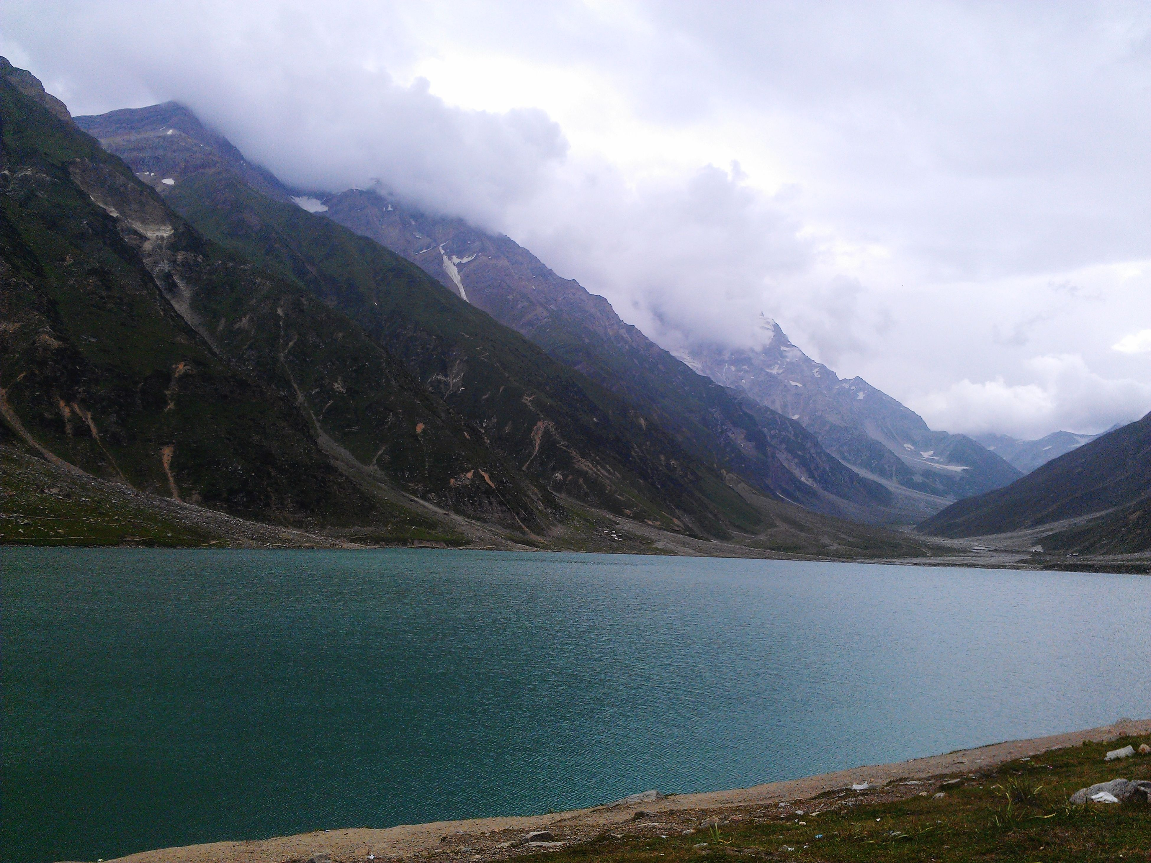 Lake 10500ft Top Of The Mountain Summer Nature Photography Beauty In Nature Pakistan