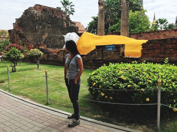 🙏🏼🙏🏼🙏🏼 Ayutthaya Mlife Traveling Watyaichaimongkol Beautiful Old Buildings Lifestyles