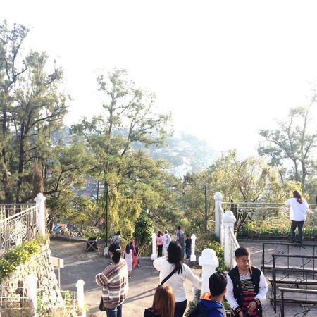 Wonderer Baguio Baguio City Baguiocity Philippines Tour Tourist Touristspot Faith WhenInBaguio Photography Trees People