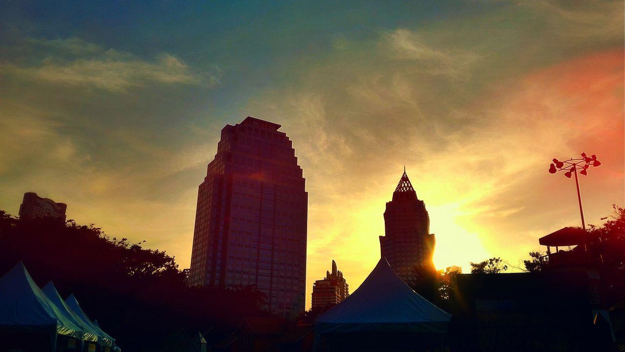 #Bang #bklow'nDope #Blue #lumpini #PandoraFlow #Relaxing #Skyline #sunshine #Thailand