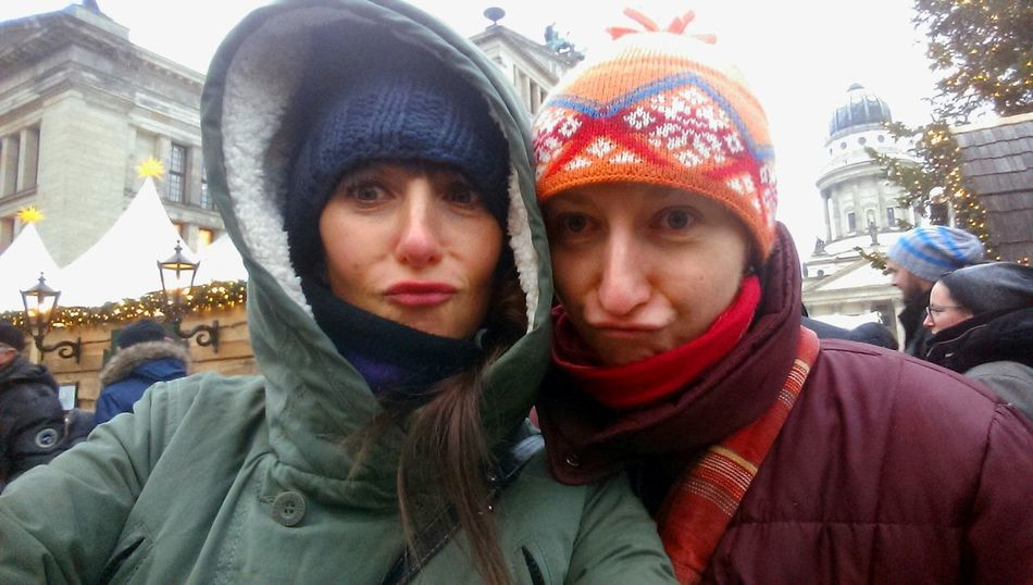 Selfie Duckface Xmas Market