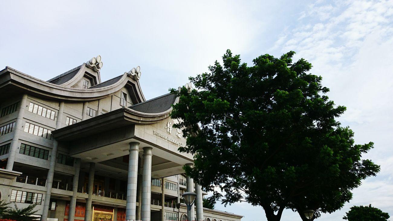 Exterior Building Tzu Chi Sky Architecture Budhism Prayers Explore Jakarta Jakarta Indonesia