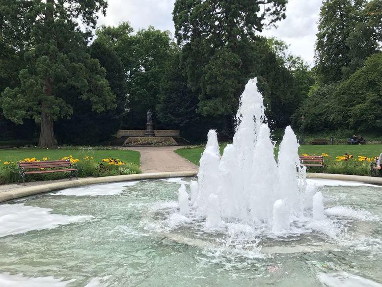 Fountain Water Park - Man Made Space Outdoors Park Springbrunnen