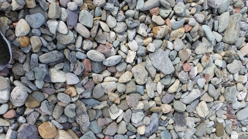 Full Frame Abundance Large Group Of Objects Backgrounds Pebble Day Outdoors No People Beach Pebble Beach Nature Close-up