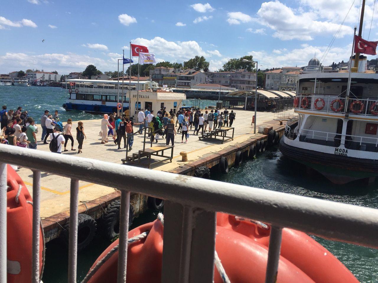 Büyük Ada - Great Island Turkey Turkey Büyükada Adalar People Sea And Sky Vapur Ve İstanbul Nice Day