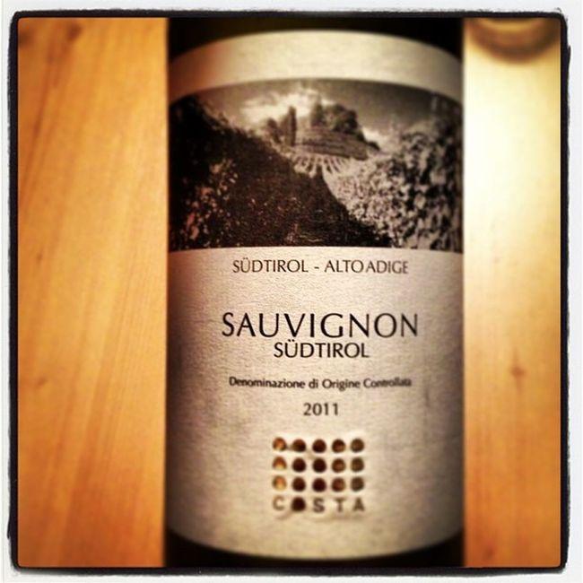 Enjoying some local wine. Sud Tirol Gruppocostavini