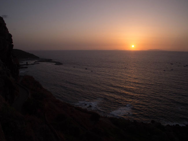 Castelsardo Coastline Nature Sardegna Sardinia Sea Sunset Tramonto