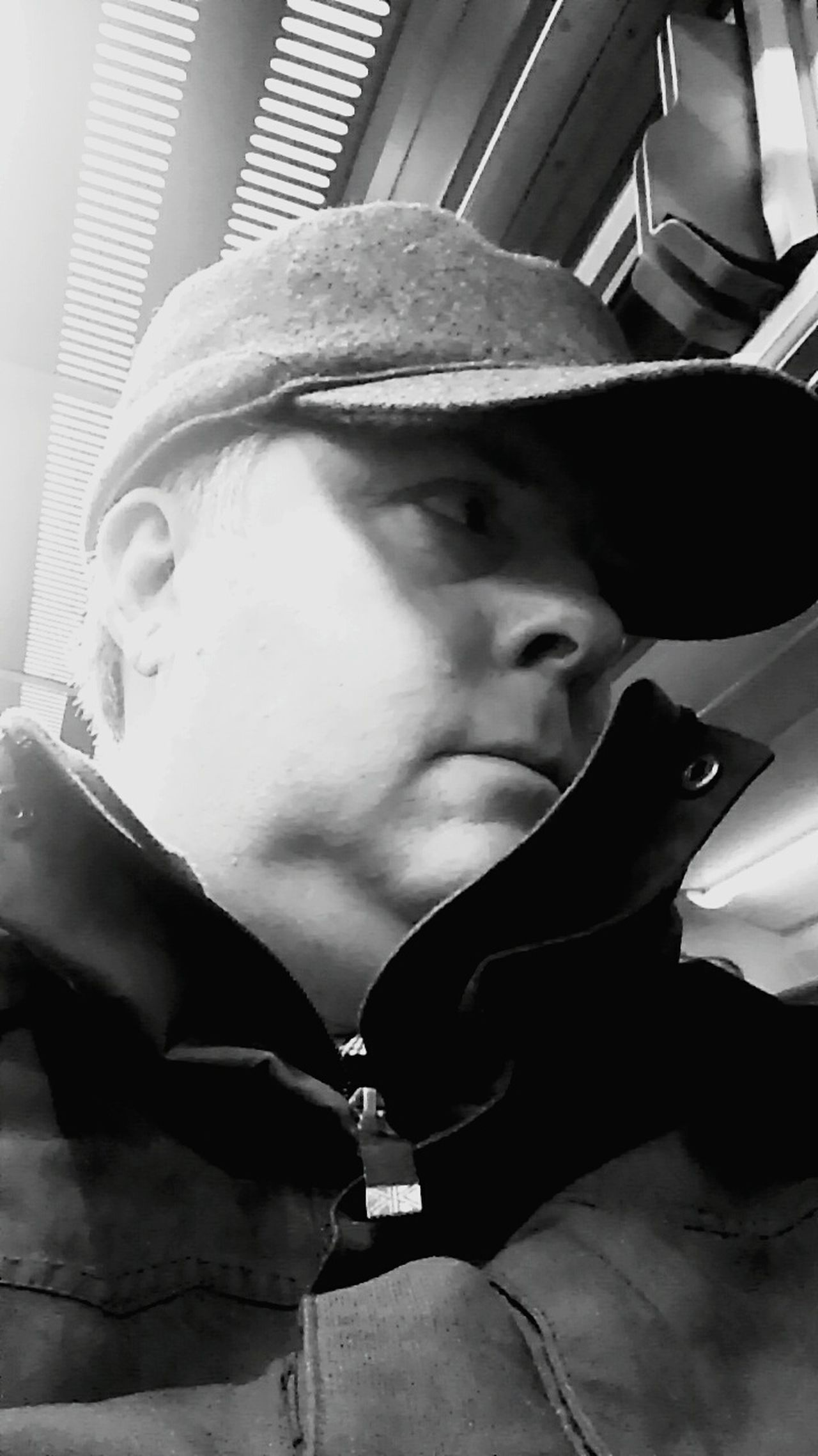 Working Day Urban Commuting Grind Tired Pensive Thinker Daydreaming Thoughtful Mindfulness Mindful