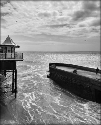 blackandwhite in Brighton by Martin Stapleton