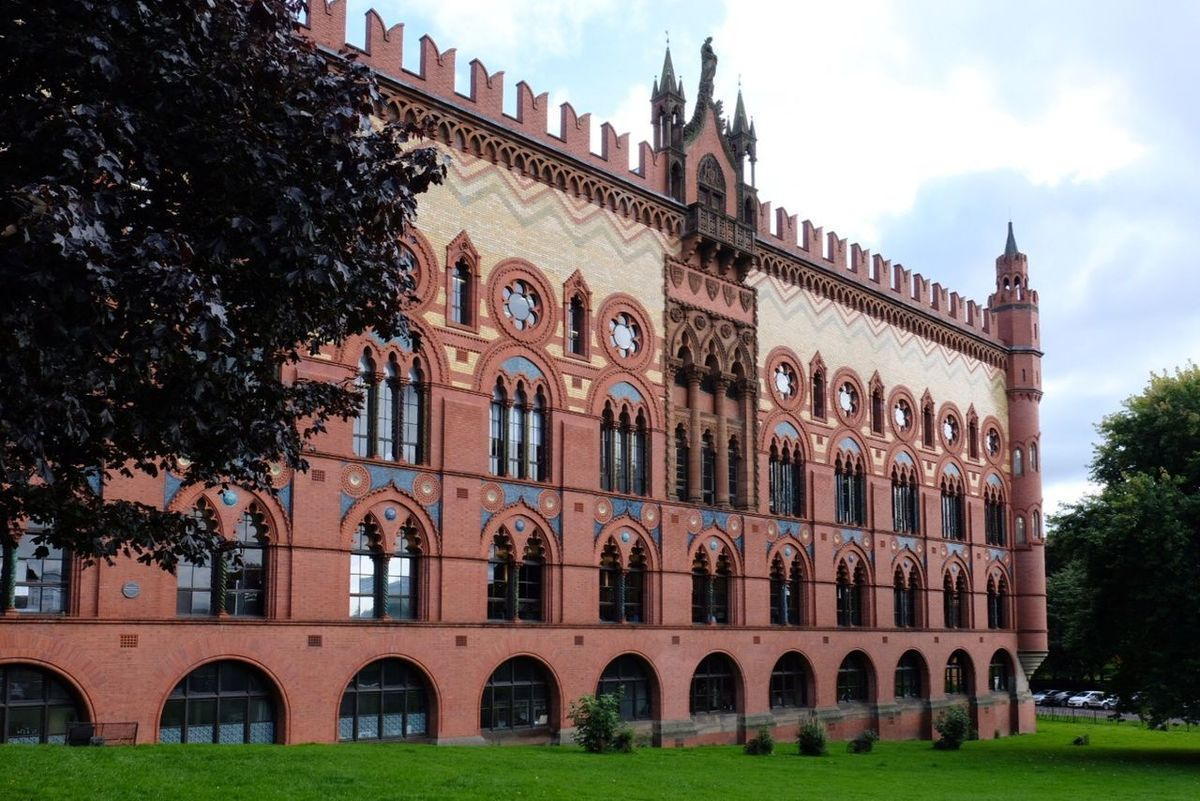 Architecture Building Exterior Built Structure Tree Arch History Outdoors Travel Destinations Day Sky No People City Templeton West Brewery Glasgow  Glasgow Green