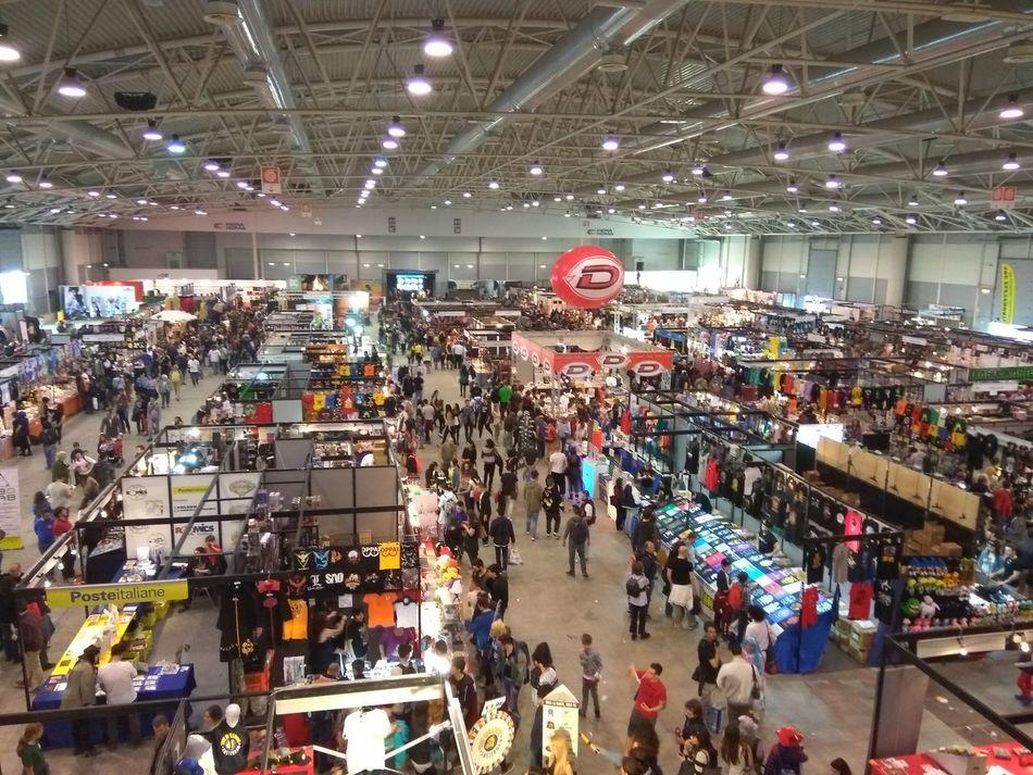 Large Group Of People Crowd Men People Day Romics Comics Manga Cosplayer