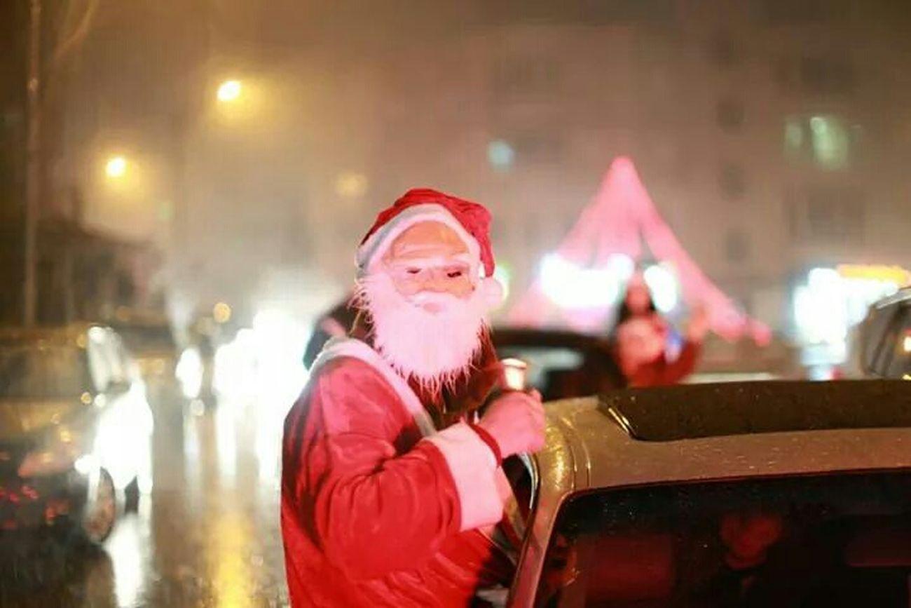 Nice day be happy santa me haha lol :*