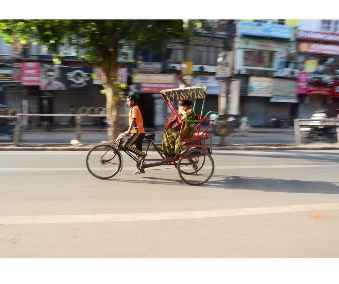 Road On The Move Street Land Vehicle Motion Travel Outdoors Delhi Chandnichowk
