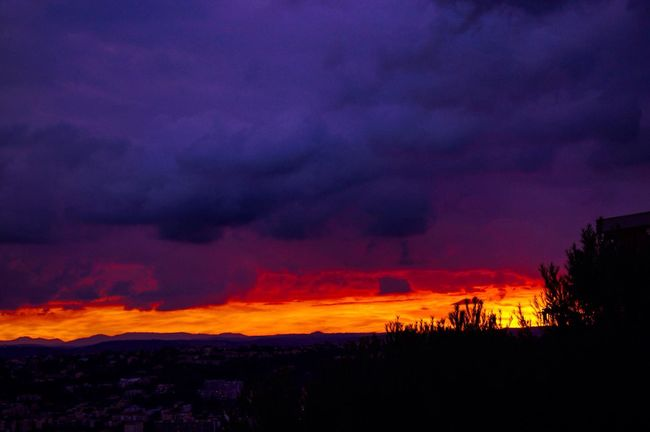 Power In Nature Sky Beauty In Nature Outdoors Cloud - Sky Cloud Sunset Frenchriviera