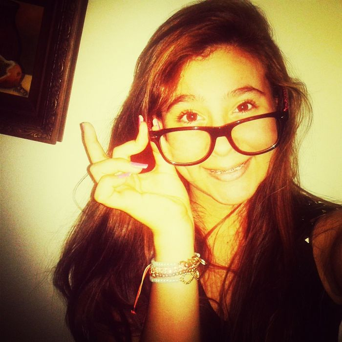 That's Me Check This Out Am I Cuteee Now ? C:  I May Not Be Perfect But This Is Who I Am :)