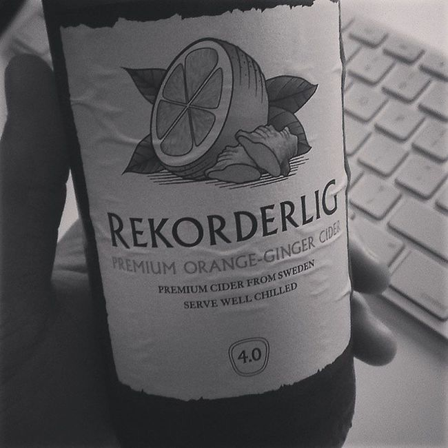 this is the shit Rekorderlig