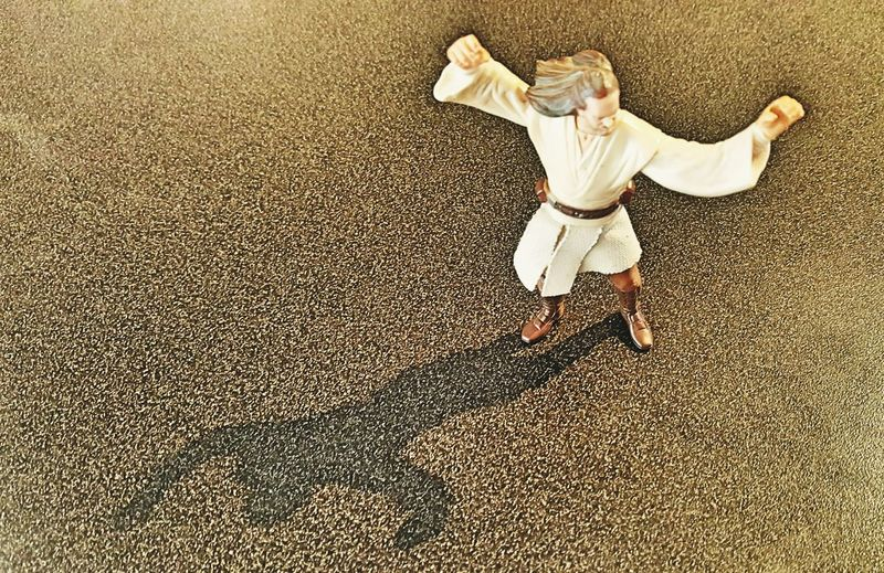 Obiwankenobi Starwars StarWars Collection Starwarsfigures Figurine  Toy Toy Photography Shadow Obiwan Shadow