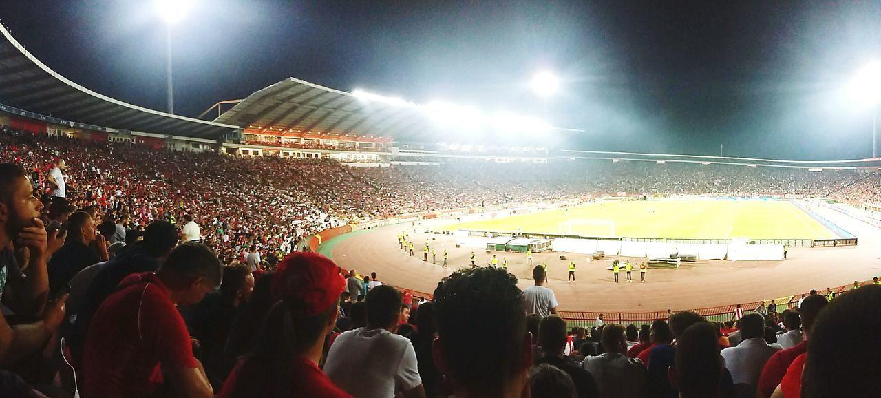Red star forever ❤ Redstar Crvena Zvezda Crvenazvezda Marakana Football Stadium Stadium Atmosphere Football Stadium Delije Delije Sever
