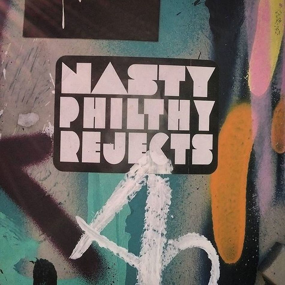 Sticker Stickers Stickerporn Streetart Stickershit Nastyphilthyrejects Npr
