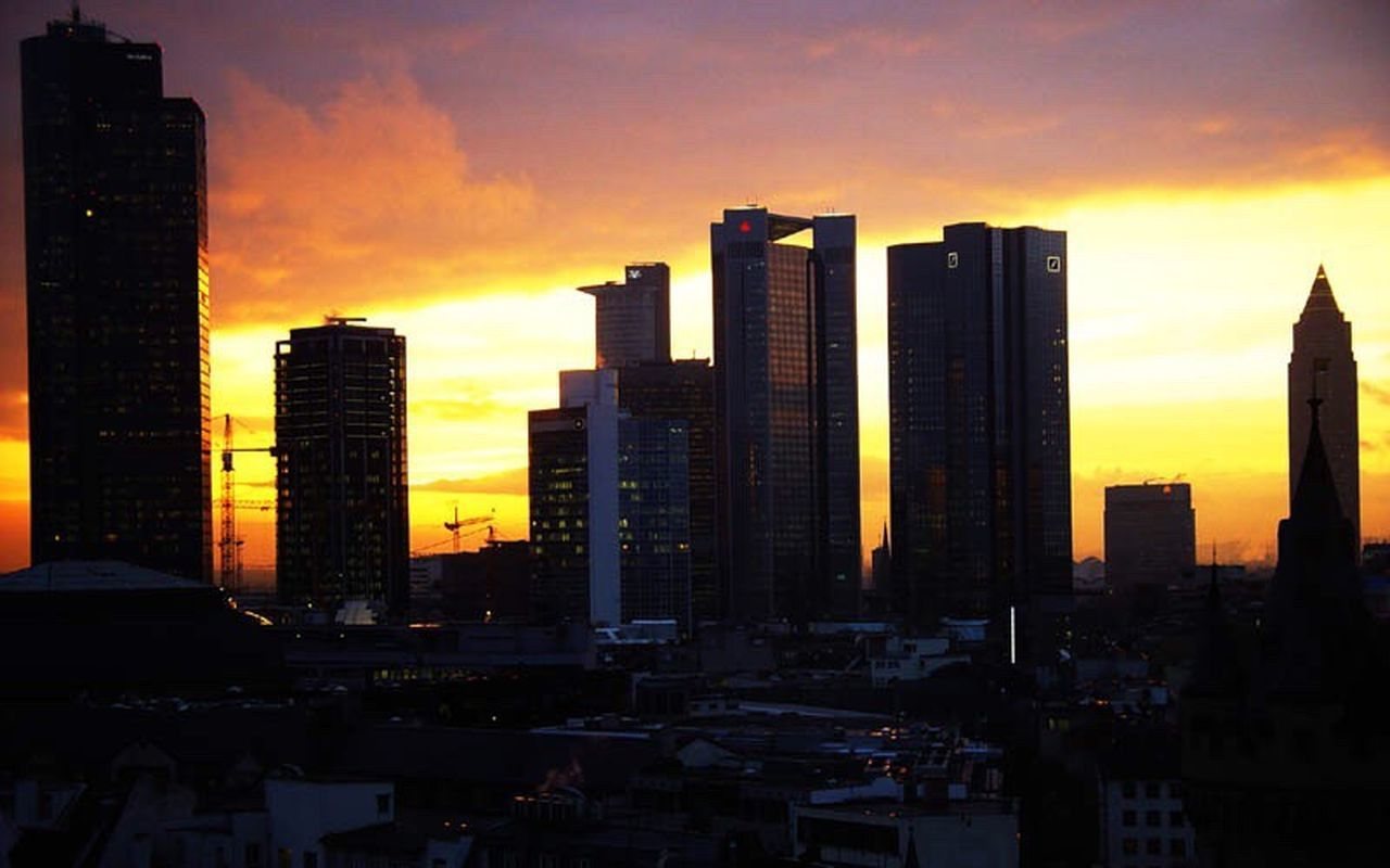 Frankfurt Am Main Frankfurt Skyline Frankfurt Skyline