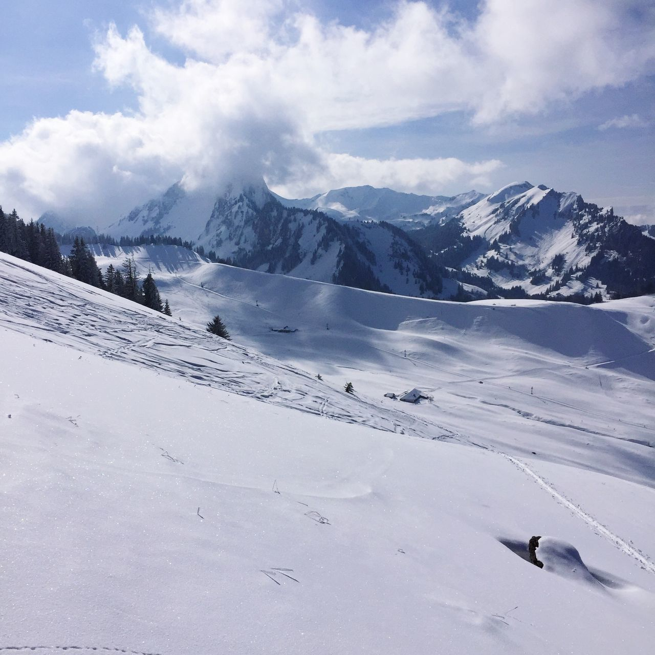Skitouring Snow ❄ Schwarzsee Thankful Beautiful Day