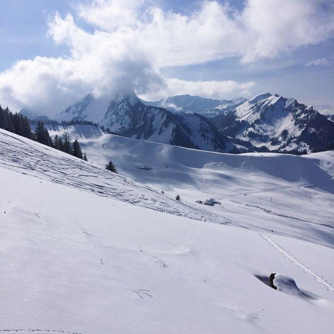 Skitouring Snow ❄ Schwarzsee Thankful Beautiful Day