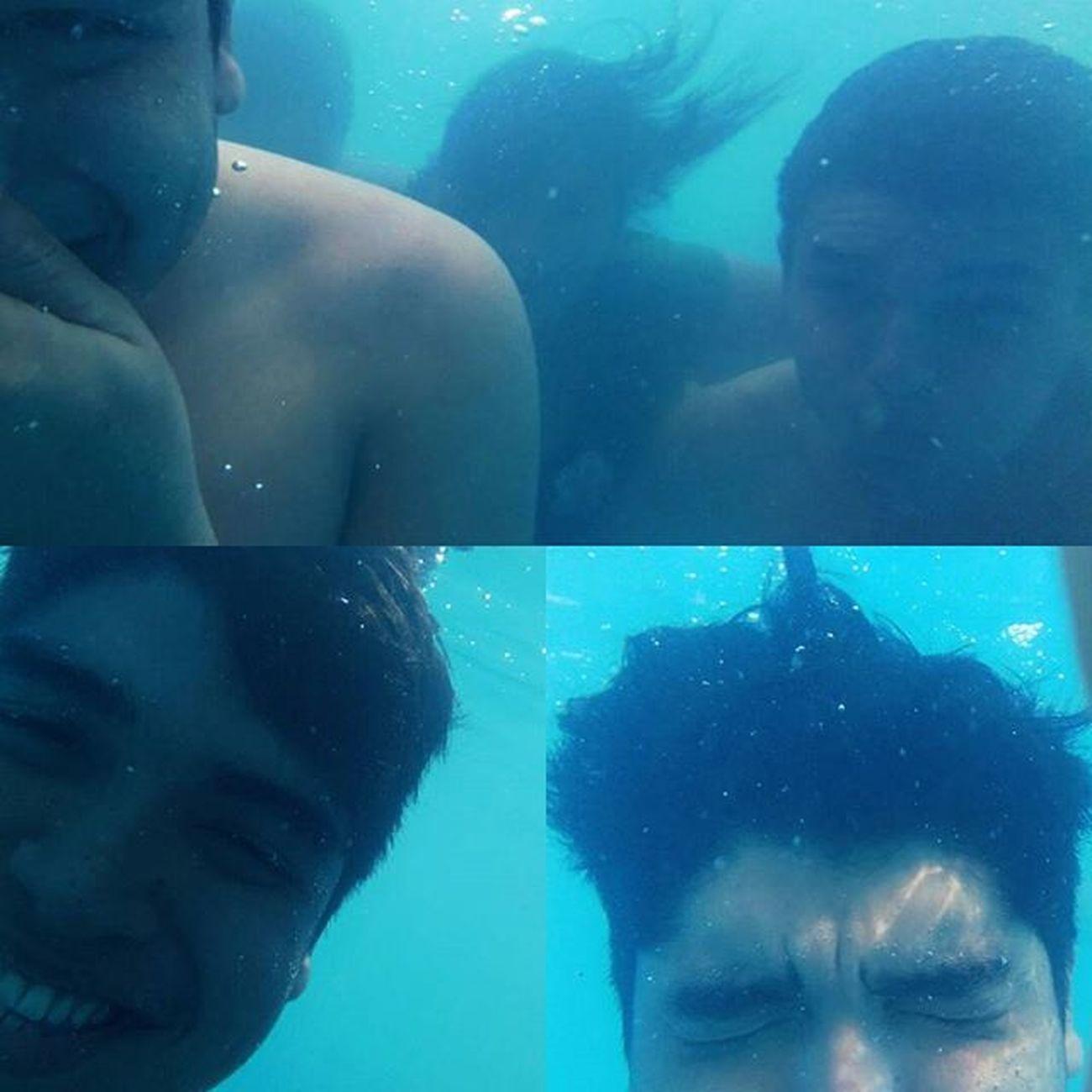 Bajo el agua 💦 Piscina Amigos Divercion Agua XPERIA Xperiam4 Sony Happy😄 Imcarlosramirez