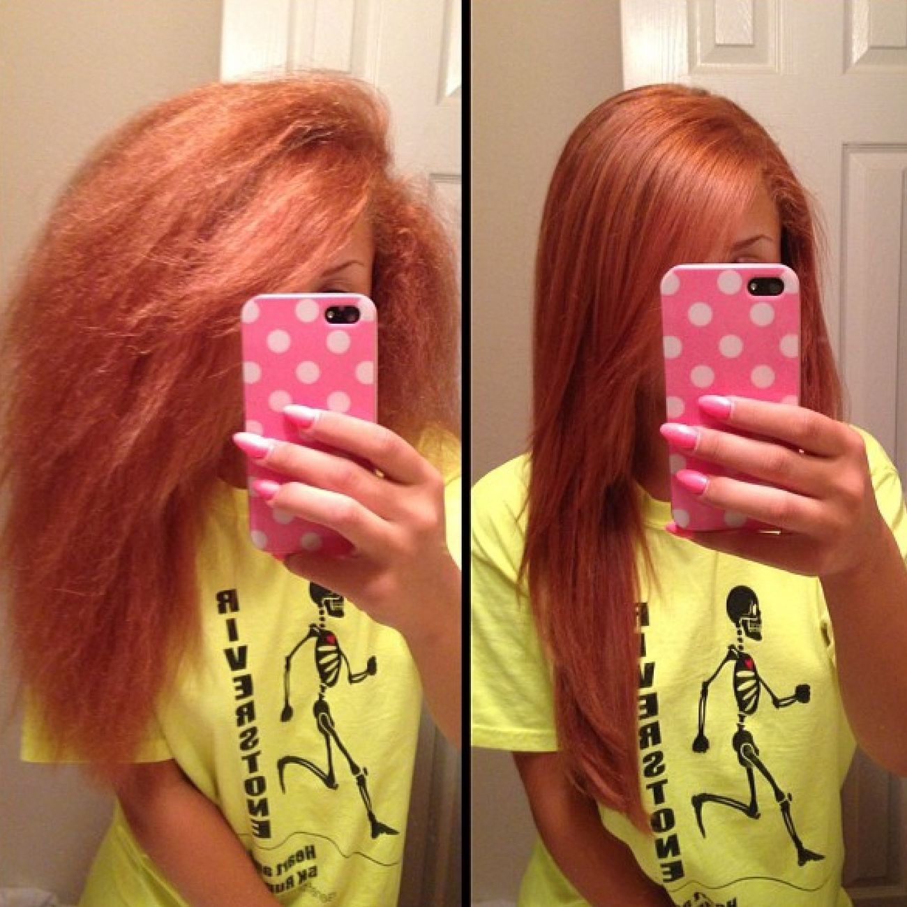 New Color Before And After..