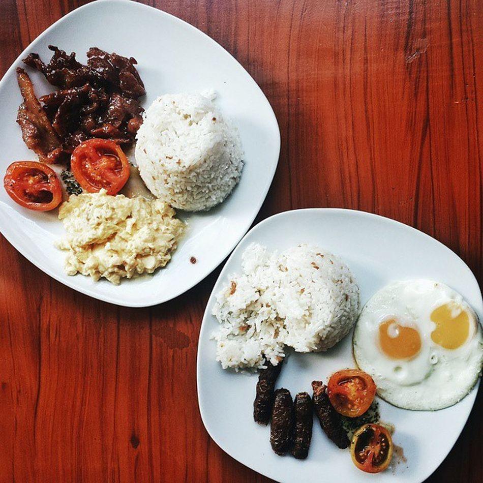Pampanga's Tocino and Vigan Longanisa @kantobfast 😋 Kantofied Kantobreakfast