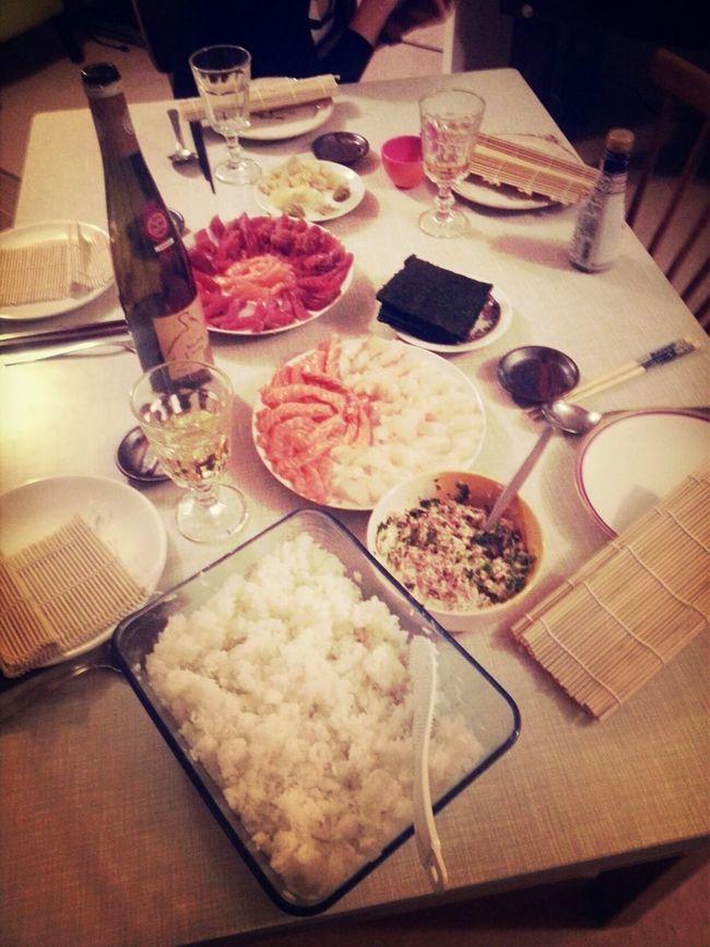 DIY Sushi Attack