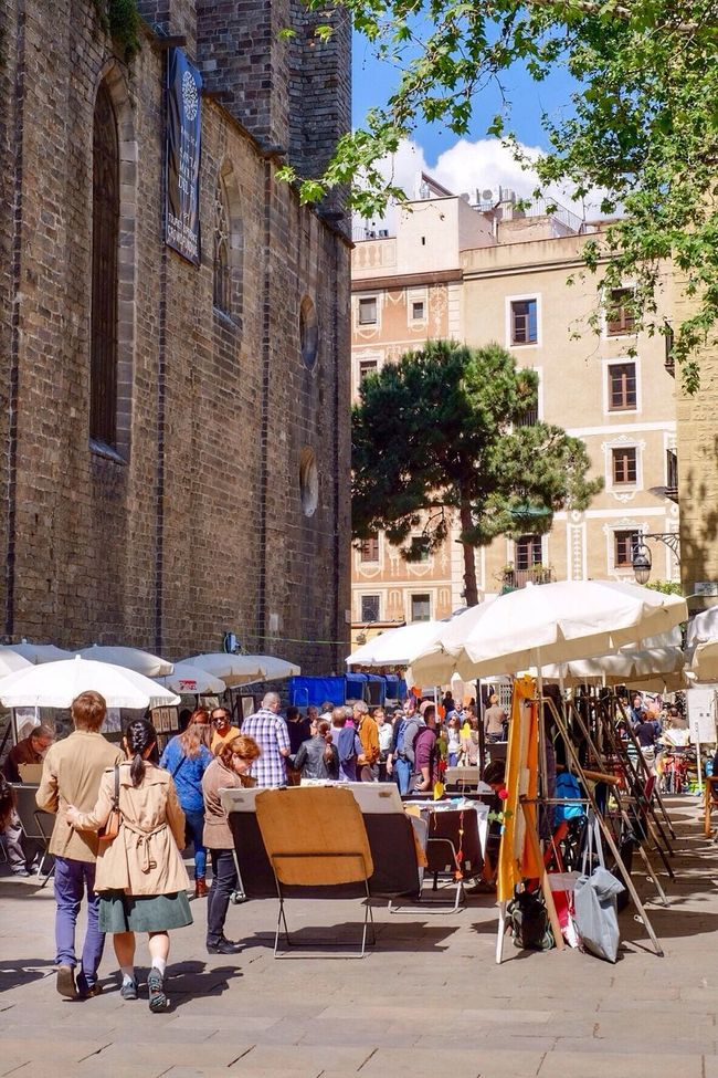Market Marketplace Santa Maria Del Pi People Streetphotography Street Photography Barcelona