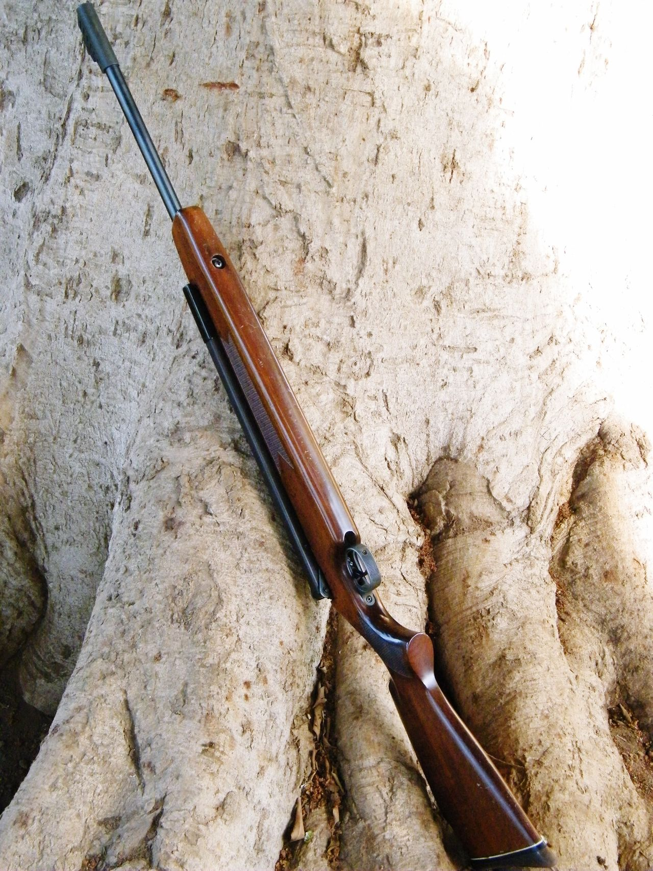 Big Tree Rifle Wood - Material Back To Nature Hunter