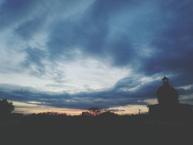 крепость закат🌇 красота Пейзажи