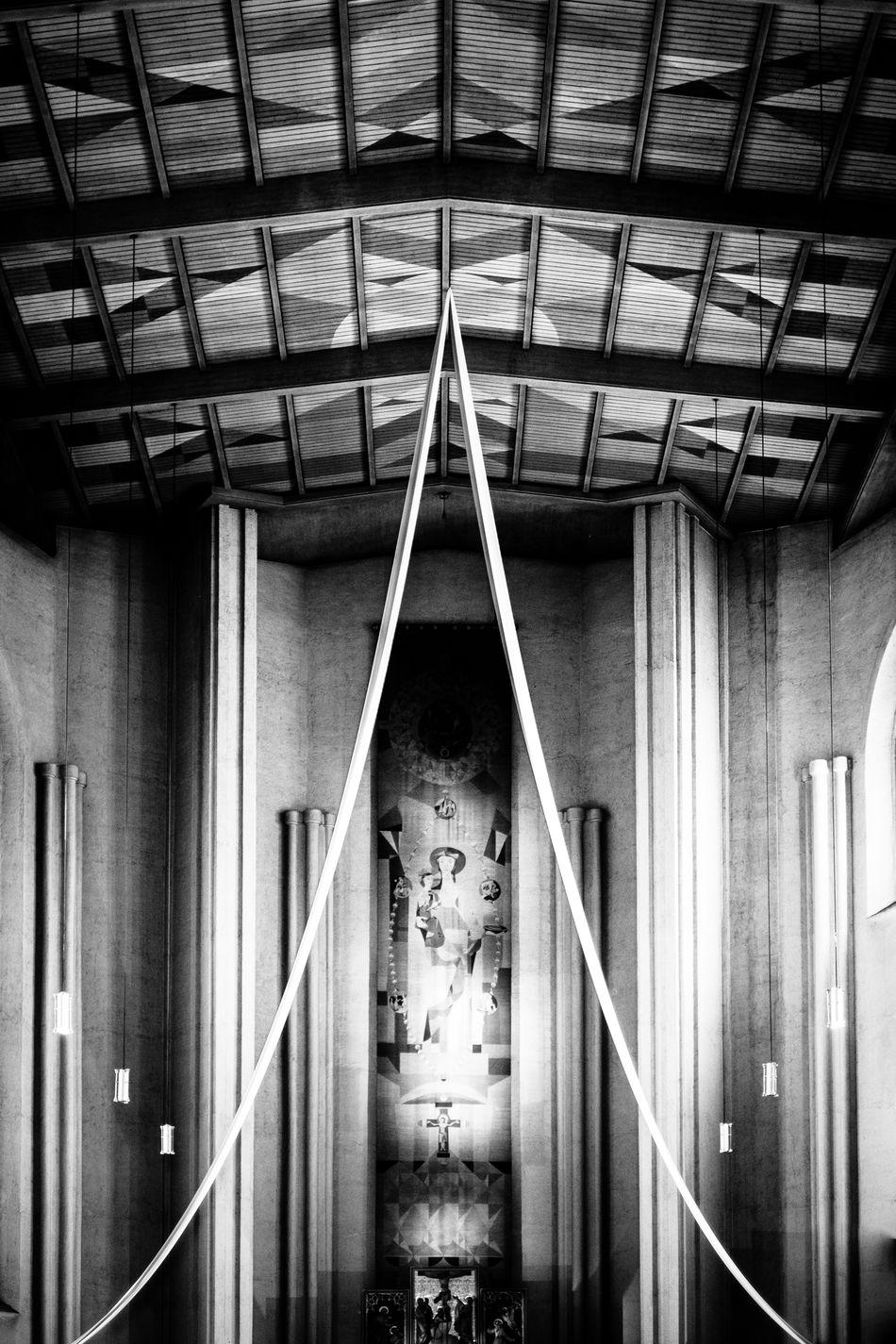 Architecture Blackandwhite Built Structure Church Church Architecture Churches Indoors  Mystical No People