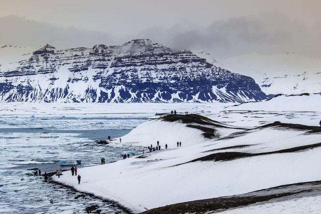 Iceland Islande Jokulsarlonlagoon Jokuksarlon Ice Montains    Iceberg Glace Blue Travel Travel Photography Voyage Roadtrip