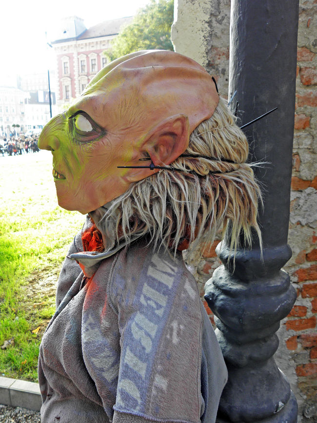 Halloween's fancy scary art instalation,Zagreb,Croatia,Europe,27 Art Art Instalation ArtWork City Colourful Craftmanship Croatia Day Eu Europe Fancy Halloween Horror Mask - Disguise Monster Picturesque Scary Zagreb