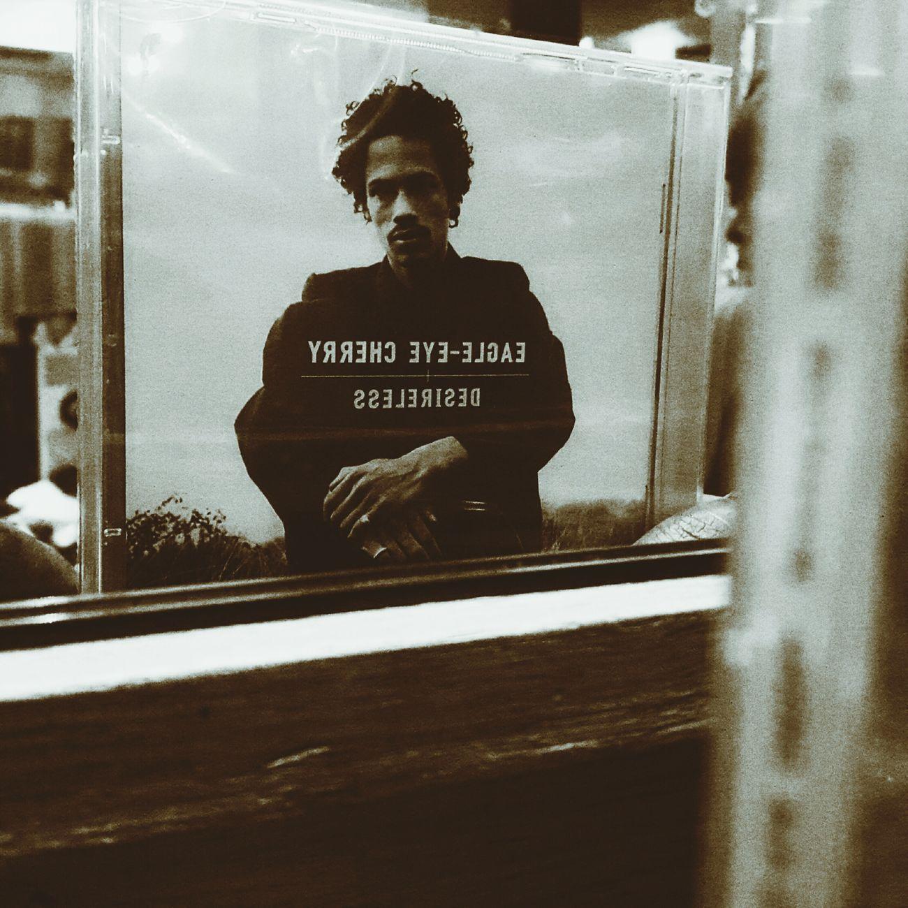 Poundshop buys, Eagle-Eye Cherry - Desireless Mirror Musician CDs Photography Folk Guitar Rock Music Image One Person Portrait